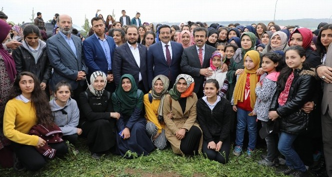 Tenzile Erdoğan Hatıra Ormanına Fidanlar Dikildi