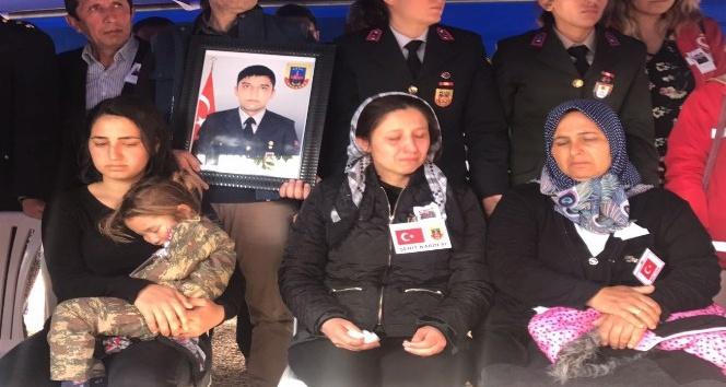 Şehit Uzman Çavuş Uysal, Alanya'da son yolculuğuna uğurlandı