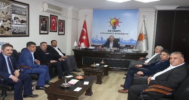 Saadet Partisi yönetimi Erdoğan ile bir araya geldi