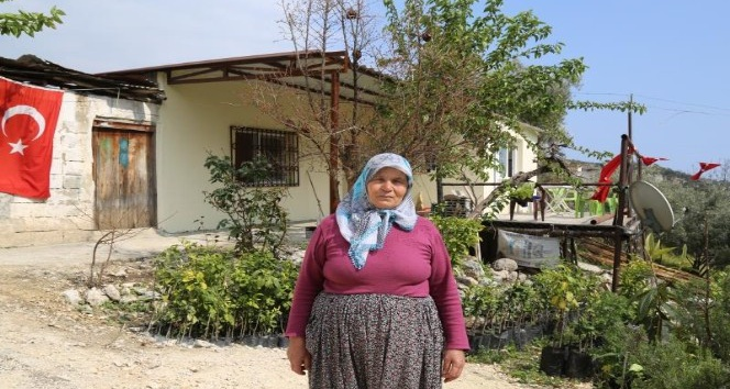 Mersin'de şehit ailesinin evi yenilendi