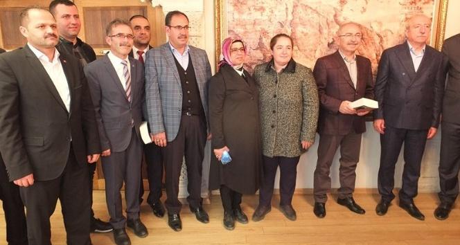 AK Parti Mardin Milletvekili Miroğlu Vali Yaman'ı ziyaret etti