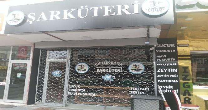 Çiftlik Bank Kayseri Şarküteri kepenk kapattı