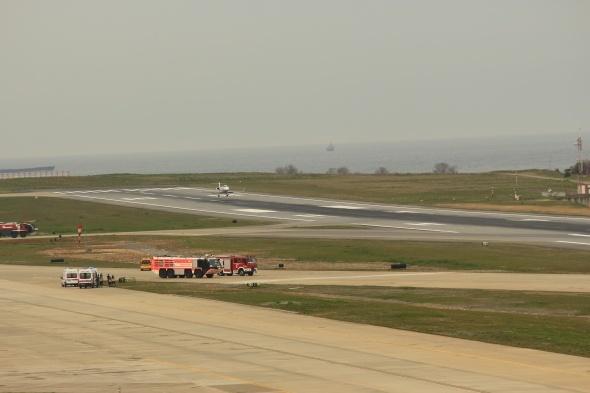 Dün Trabzon Havalimanı'na acil iniş yapmıştı! Akıbeti belli oldu...