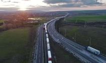 Bulgarların güncellemesi kilometrelerce tır kuyruğuna neden oldu
