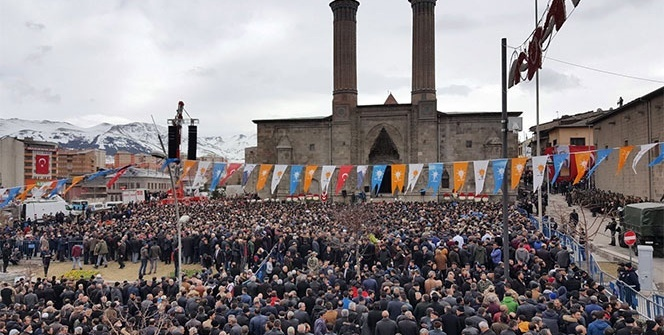 Cumhurbaşkanı Erdoğan Erzurum'da