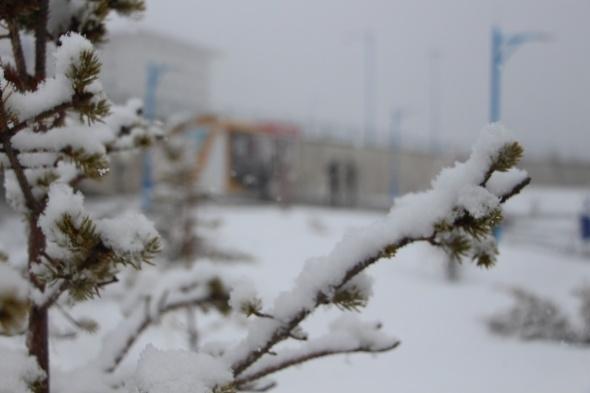 Baharın beklendiği şehirde kış bir daha yüzünü gösterdi