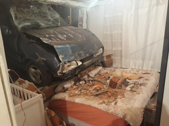 Bu fotoğraf Türkiye'de çekildi! Yatak odasına girdi...