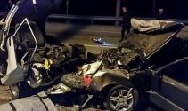 Feci kaza: 2 ölü, 6 yaralı !