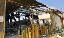 Başkentte gaz dolumu yapılan fabrikada korkutan patlama: 1 yaralı