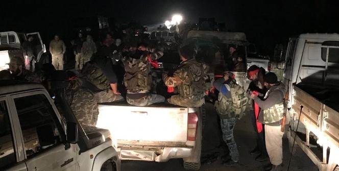 ÖSO güçleri Afrin merkezde kontrolü sağladı!
