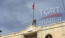 Afrine Türk bayrağı dikildi