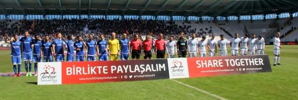 Erzurumspor Giresunspor Maçından Kareler