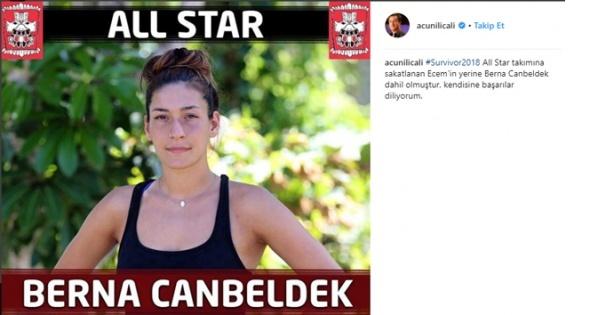 Survivor All Star takımına Berna Canbeldek katıldı! Berna Canbeldek kimdir?