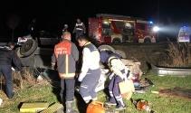 Ankara'da trafik kazası: 3 ölü 2 yaralı