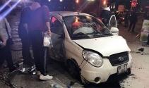 Kontrolden çıkan otomobil faciaya neden oluyordu
