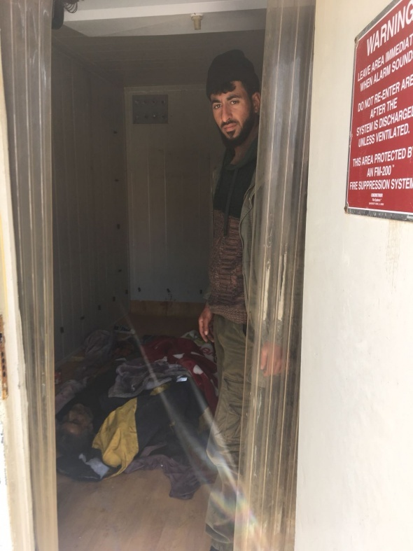 Hainler! Afrin'den kaçarken hastaneye bile bomba ile tuzaklamışlar