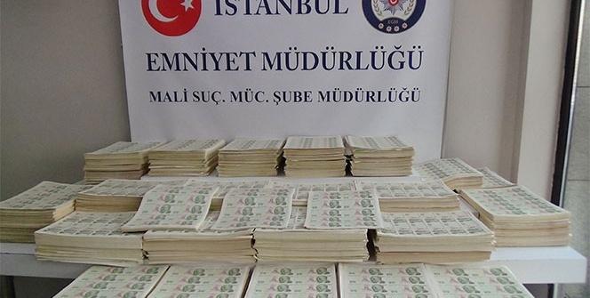 İstanbul'da sahte para basılan matbaaya baskın