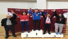 Yalovada yapılan Genç Kadınlar Güreş Türkiye Şampiyonası bitti