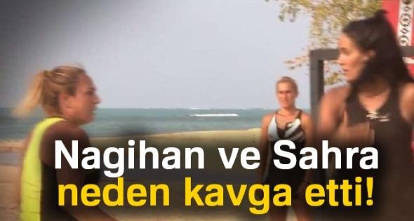 Survivor'da bir kavga daha! Nagihan ve Sahra neden kavga etti  (Nagihan Sahra kavga)