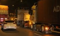 TEMde zincirleme kaza trafiği kilitledi