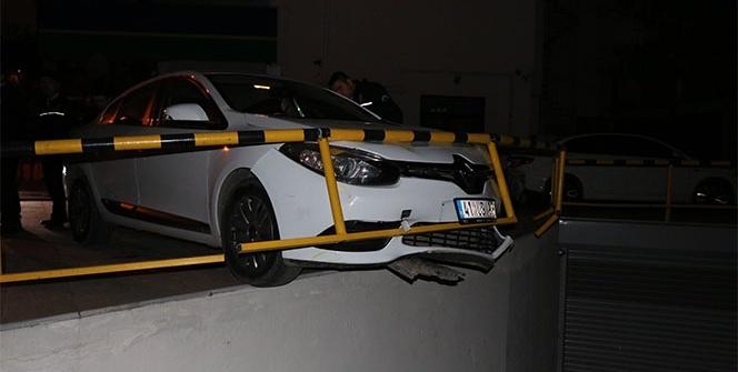 Polisten kaçan alkollü sürücü böyle kaza yaptı