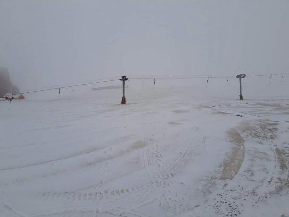 Mart sonunda kar sürprizi