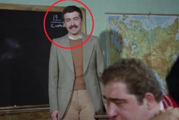 Hababam Sınıfı'nın Bıyıklı 'Avnii Hoca'sı bakın kim çıktı