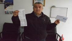 Hiç gitmediği Kırşehirde ceza yedi