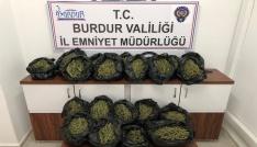 Burdur Emniyet Müdürlüğünden uyuşturucu operasyonu