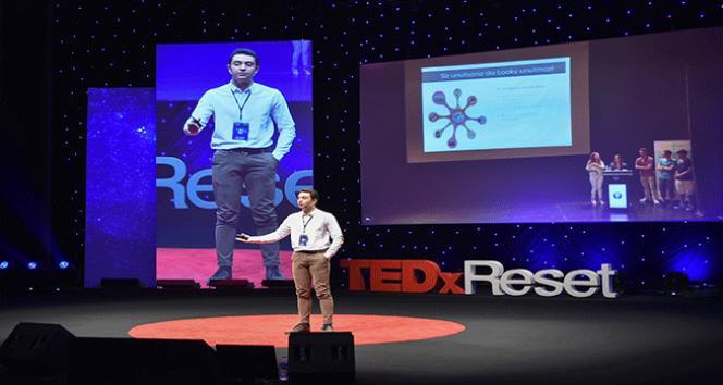"""Uğurlu öğrenci TEDxReset sahnesindeydi: """"Başarısızlık, başarının ilk adımıdır"""""""