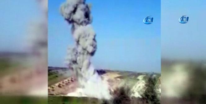 İdlib'de hava saldırısı: 1 ölü, 15 yaralı