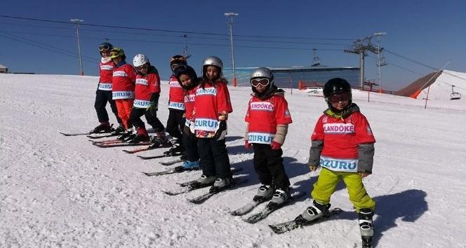Erzurum GHSİM'den kayağa devam