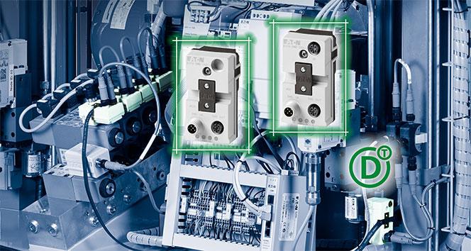 Hidrolik valfler SmartWire-DT iletişim sistemine bağlanabilecek