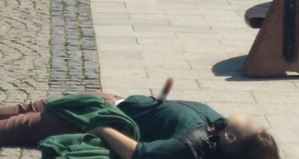 Çanakkale'nin merkezinde önce kalbinden bıçakladı, sonra silahla vurdu