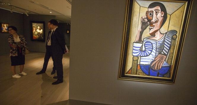Picasso'nun 'Denizci' tablosu 70 milyon dolara satışa sunulacak