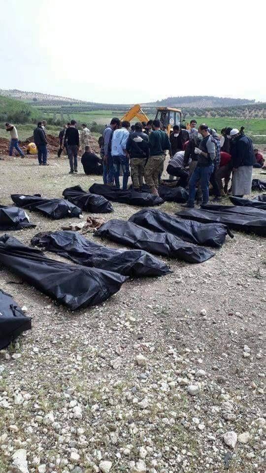 Afrin'de ortaya çıktı! YPG Vahşeti...