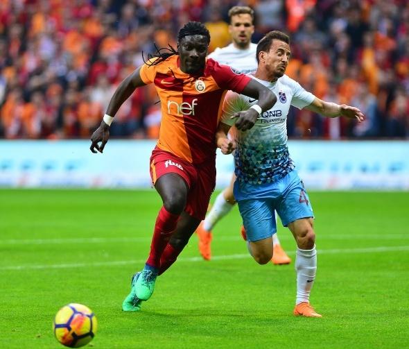 Galatasaray Trabzonspor Maçından Kareler