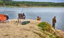 Turna Balığı Yakalama Yarışması'nda 152 balık avı sporcusu kıyasıya yarıştı