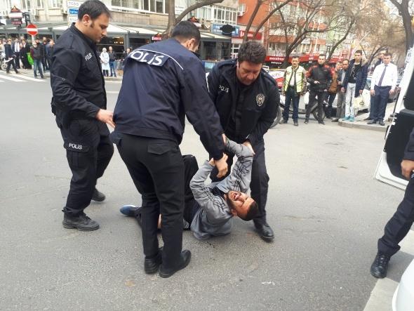 Ankara'nın göbeğinde şoke eden olay!