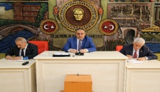 Gümüşhane İl Genel Meclisinin Nisan ayı toplantıları başladı