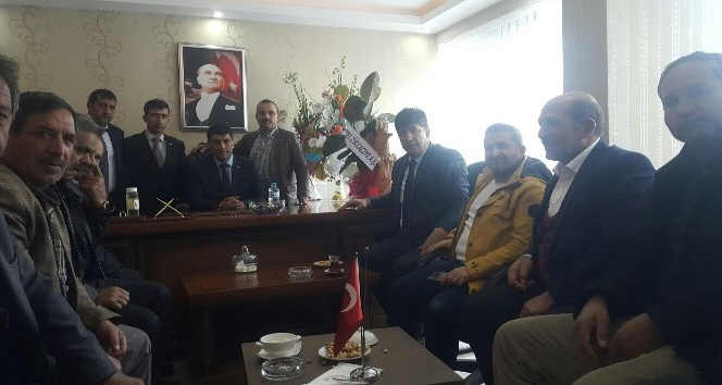 Başkan Sertoğlu'ndan PTSO'ya hayırlı olsun ziyareti