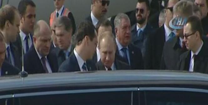 Rusya Devlet Başkanı Vladimir Putin, Ankara'da