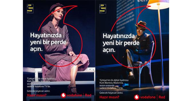 Türkiye'nin ilk dijital tiyatro oyunu 'Kürk Mantolu Madonna' Bursa'da