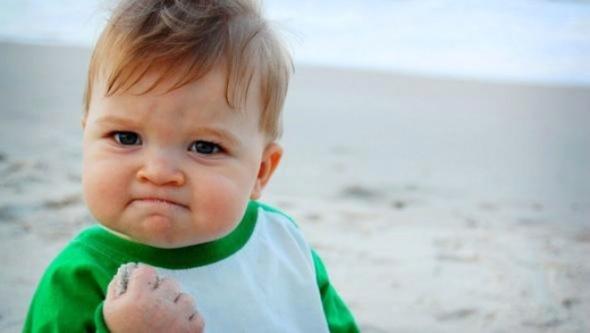 Bu pozla meşhur olan 11 aylık bebeğin bir de son haline bakın