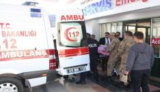 Teröristlerin tuzakladığı EYP patladı: 1 asker yaralı