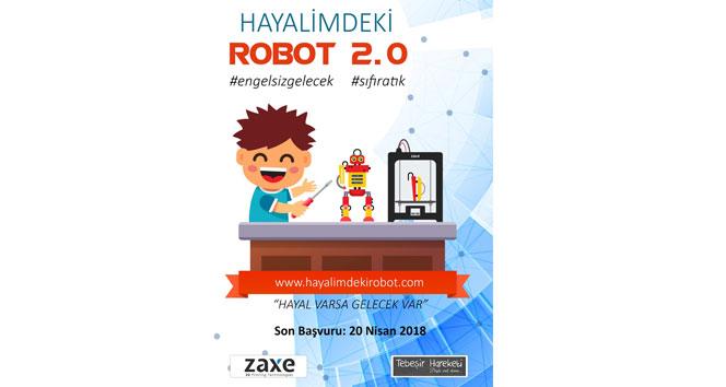 'Hayalimdeki Robot Projesi'nin ikincisi başladı