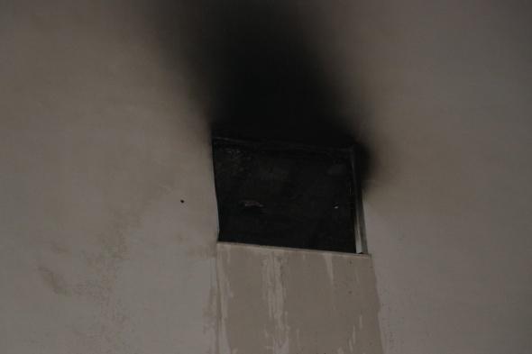 İşte anne yüreği: Yangından canı pahasına kurtardı