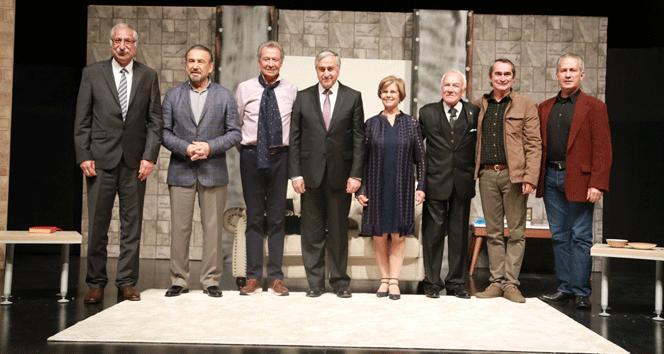 Cumhurbaşkanı Mustafa Akıncı, 5. Tiyatro Günleri'nin onur konuğu oldu