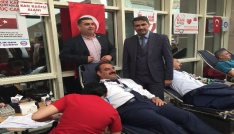 Siirtte kan bağışı kampanyası