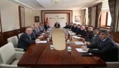 KÖYDES İl Tahsisat Komisyonu toplantısı Vali Pehlivan başkanlığında gerçekleştirildi